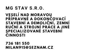 MG sTAV s.r.o.